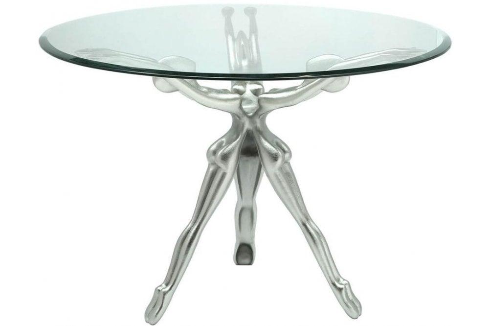 Limerick Glass Round Coffee Table Furnitureinstore
