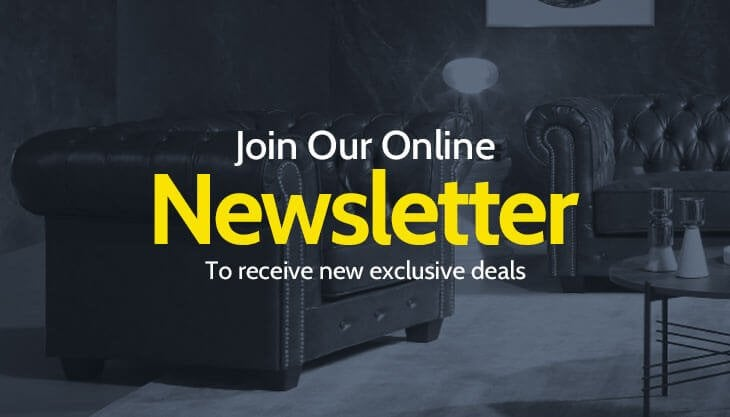 Join Our Newsletter To Receive New Exclusive Deals